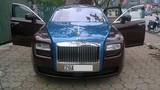 Xe sang Rolls-Royce Ghost chục tỷ đổi màu ở Hà Nội