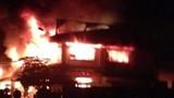 Cháy ngùn ngụt tại chợ Tam Nông, Đồng Tháp