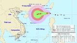 Bão số 6 có thể gây nguy hiểm từ Quảng Ninh đến Khánh Hòa