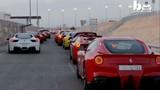 Đại gia Trung Đông mang hàng chục siêu xe ra khoe