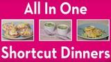 Bữa tối nhanh gọn với 3 món ăn bằng lò nướng