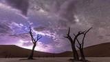 Khung cảnh thần tiên đẹp mê hồn ở sa mạc châu Phi