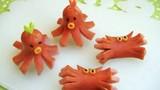 Biến xúc xích thành sinh vật biển đáng yêu chẳng nỡ ăn