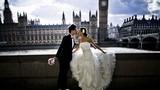 Các cặp đôi châu Á đua nhau sang Anh chụp ảnh cưới