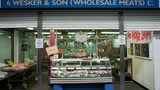 """Hình ảnh bên trong chợ bán """"thịt người"""" rùng rợn ở London"""