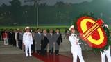 Các đại biểu dự Đại hội Đảng toàn quốc lần thứ XII viếng Lăng Bác
