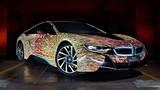 """BMW i8 """"hóa thân"""" thành tác phẩm nghệ thuật tại Ý"""