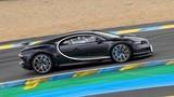 Siêu xe Bugatti Chiron nhanh hơn cả xe đua Le Mans