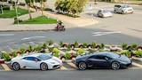 Bộ đôi siêu xe Lamborghini Huracan 13 tỷ trên phố Sài Gòn