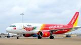 Máy bay A320 VietJet Air...mất phanh sau khi hạ cánh