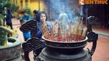 """Sáng Mùng 1 Tết ở ngôi chùa """"đẹp nhất thế giới"""" của Hà Nội"""