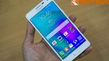 Mở hộp điện thoại nhôm nguyên khối Samsung Galaxy A5