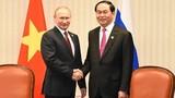 Toàn văn tuyên bố chung của Chủ tịch nước Trần Đại Quang và Tổng thống Nga Putin