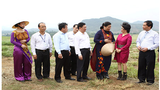 Phó Chủ tịch Quốc hội thăm trang trại bò sữa TH tại Nghệ An
