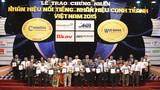 BAC A BANK nhận giải Nhãn hiệu nổi tiếng Việt Nam 2015