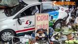 Taxi Vinasun gây tai nạn liên hoàn, 5 người nguy kịch