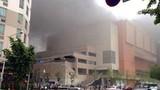 Hiện trường vụ cháy bến xe buýt kinh hoàng ở Hàn Quốc