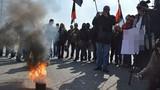 Toàn cảnh Right Sector biểu tình đòi vào Quốc hội Ukraine