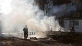 Mỏ than lớn nhất tỉnh Donetsk trúng pháo