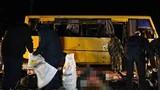 Đông Ukraine: Xe buýt trúng pháo, 11 người thiệt mạng
