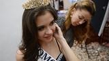 Ngắm mỹ nữ ở hậu trường cuộc thi Hoa hậu Nga 2015