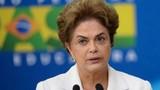 Thượng viện Brazil đình chỉ chức vụ của Tổng thống Rousseff