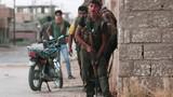 Ảnh dân quân người Kurd chiếm đóng thành phố Hasaka