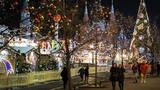Thành phố Moscow trong không khí đón năm mới 2017