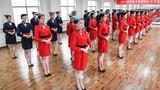 Đột nhập trường đào tạo tiếp viên hàng không ở Trung Quốc