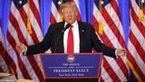 Hình ảnh họp báo đầu tiên của Tổng thống đắc cử Donald Trump
