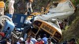 Hiện trường vụ đâm xe ở Honduras, hơn 50 người thương vong