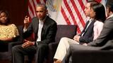 Chùm ảnh cựu Tổng thống Barack Obama tái xuất