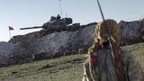 Lực lượng SDF bắn cháy 4 xe tăng Thổ Nhĩ Kỳ