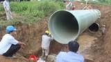 Đường ống sông Đà bị vỡ lần thứ 18