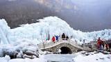 Ngắm thác nước đóng băng đẹp như trong cổ tích