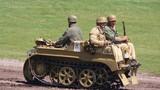 Ngắm môtô lai xe tăng độc nhất vô nhị trên thế giới