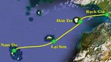 Ca nô chở 14 người từ đảo Nam Du về đất liền bị chìm
