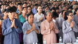 TP HCM: Hàng nghìn người dự lễ cầu siêu, Vu lan rằm tháng 7