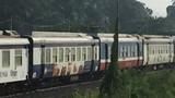 Ngồi chơi giữa đường sắt, nam thanh niên bị tàu tông chết