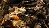 Cảnh kinh hoàng ô tô bẹp rúm trên cầu Phú Mỹ