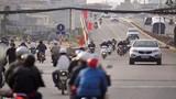 Chướng mắt cảnh giao thông bát nháo trên đường nghìn tỷ mới thông xe