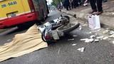 HN: Một người phụ nữ bị xe buýt cán tử vong tại chỗ