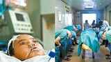 Xúc động bác sĩ cúi rạp trước thi thể em bé hiến tạng