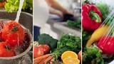 Đây là cách rửa rau quả an toàn và hết hóa chất nhất