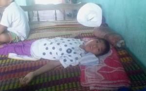 Bé Cao Thị Thanh Thảo đã xuất viện