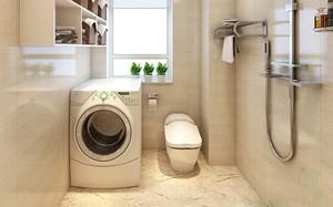 Lý do không nên đặt máy giặt trong phòng tắm
