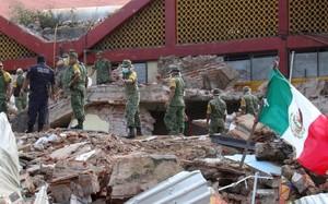 Kinh hoàng động đất gây sóng thần ở Mexico, 60 người chết
