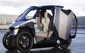 """Peugeot ra mắt xe tay ga điện ba bánh """"siêu độc"""""""