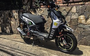 Dàn xe máy Yamaha BWS độ trăm triệu, khủng nhất Hà Nội