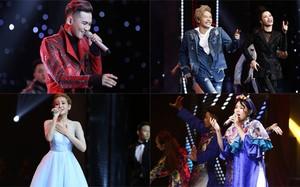 Cân tài top 5 Giọng hát Việt 2017 trước chung kết